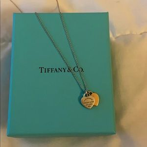 COPY - Tiffany and Co Heart double heart Pendant